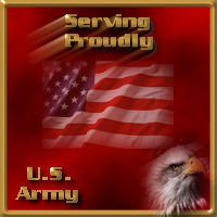 Serving Proudly US Army
